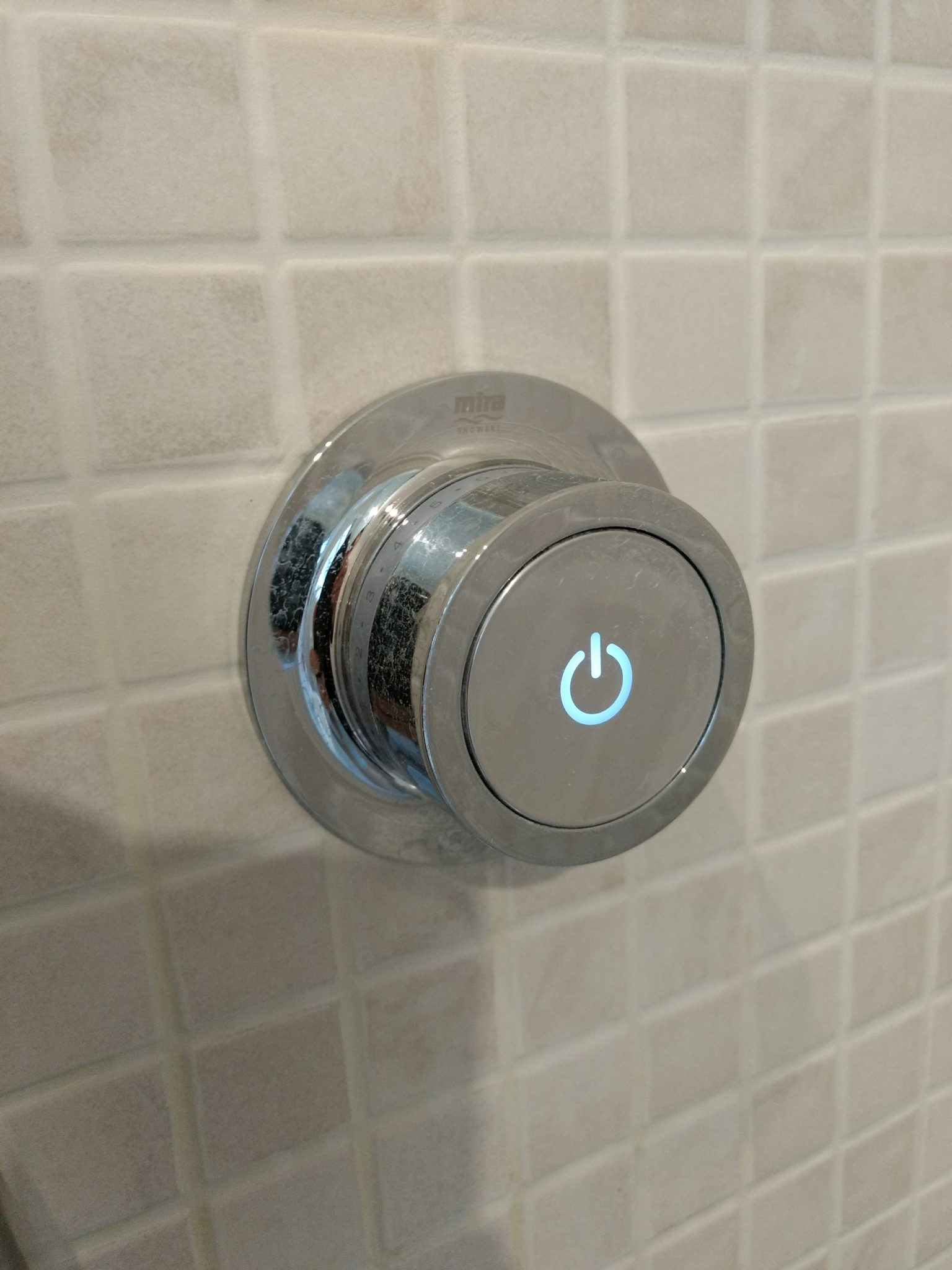 Digital shower controller