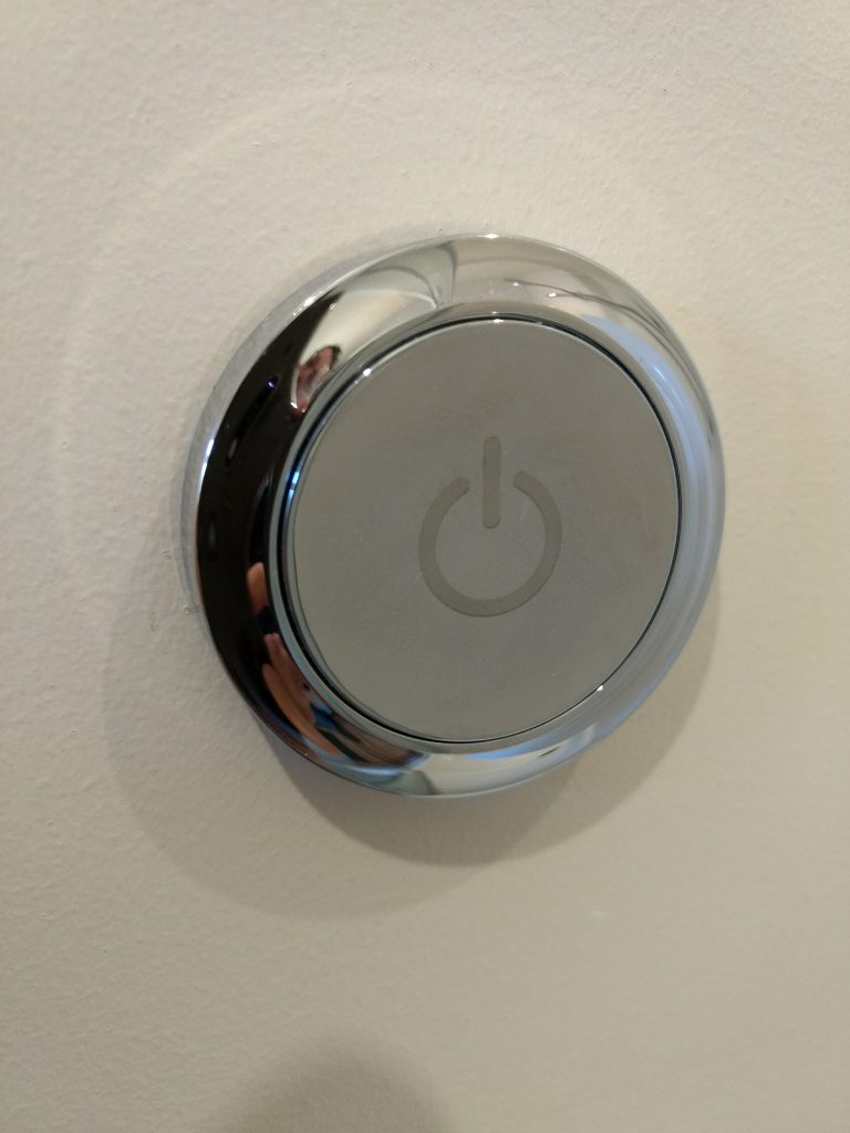 Digital shower remote