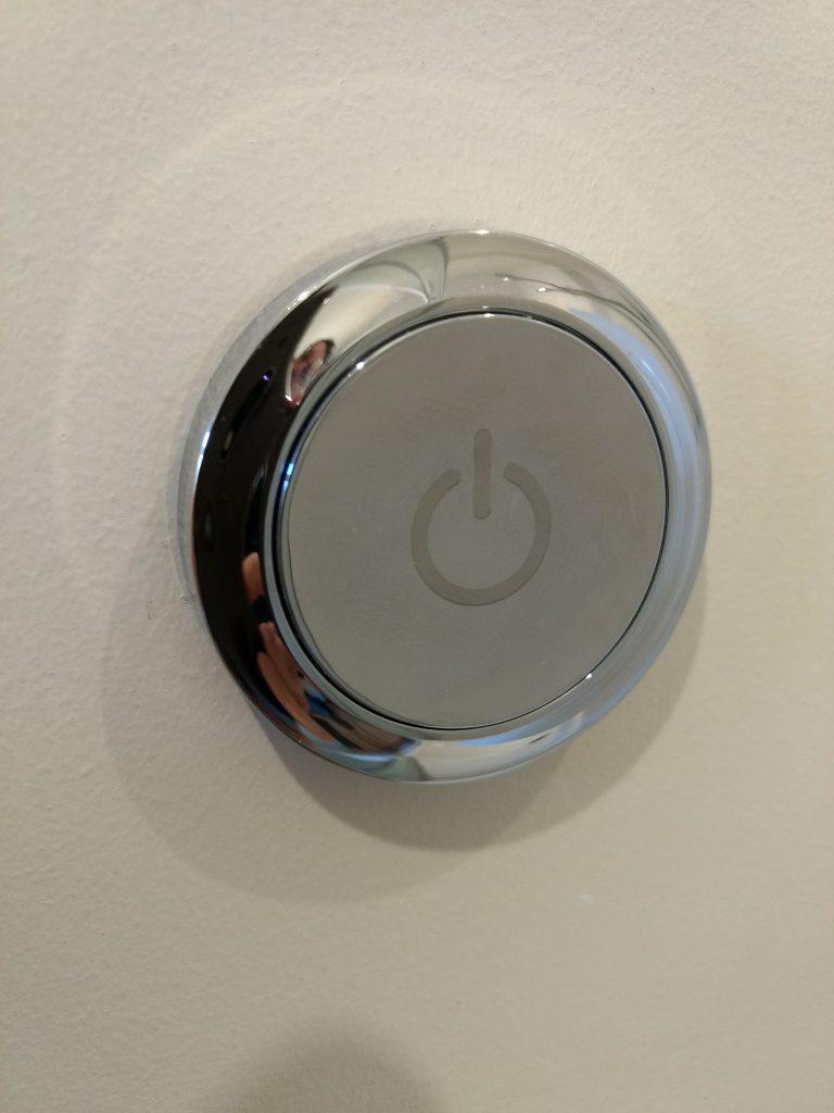 Digital shower remote